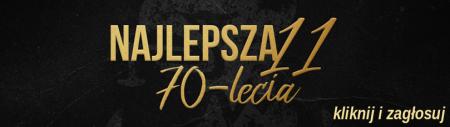 Pogoń Szczecin - piłkarz 70 lecia.
